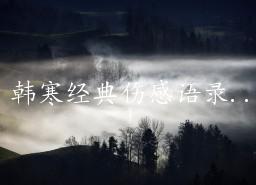 韩寒名言语录_韩寒经典伤感语录_828啦